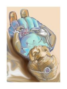 reclining deidei